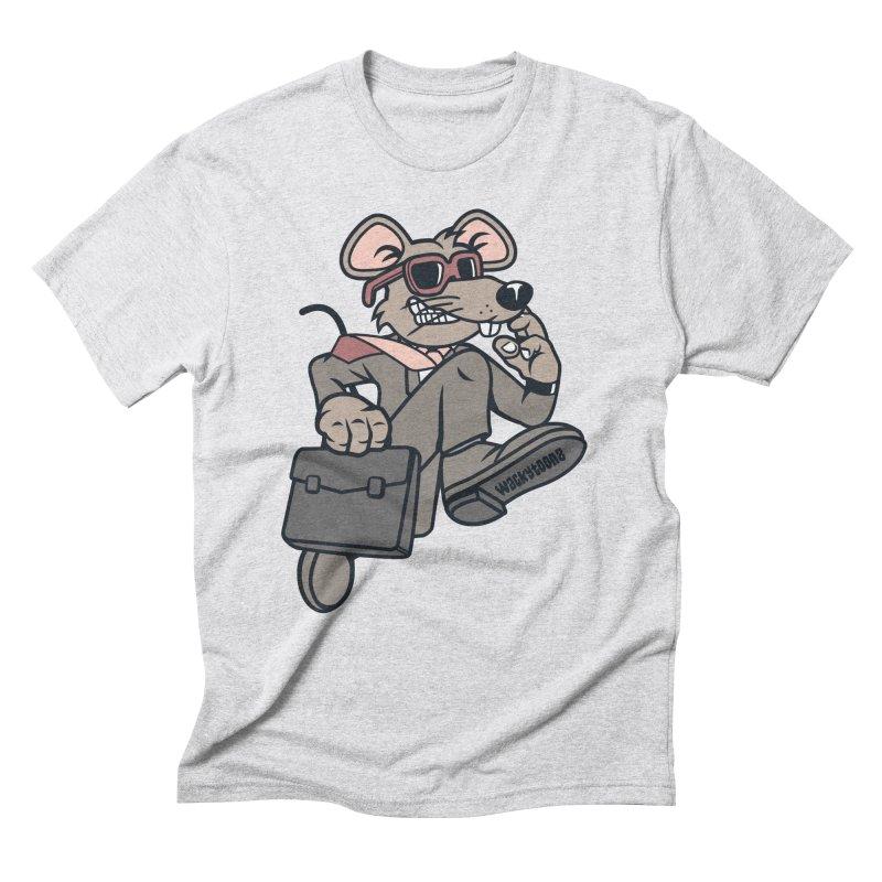 Rat Race Escape Men's Triblend T-Shirt by WackyToonz