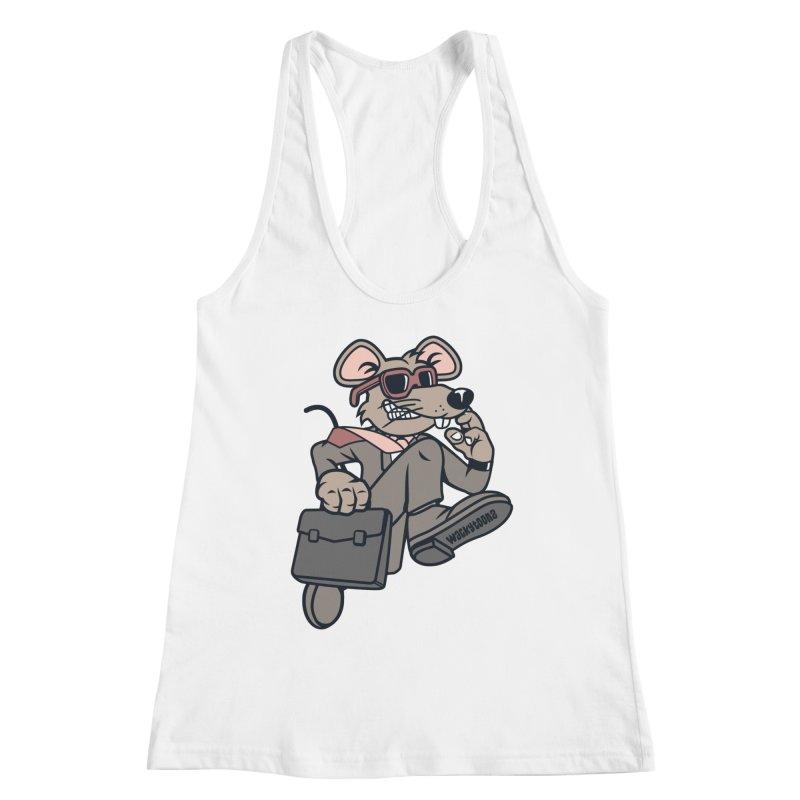 Rat Race Escape Women's Tank by WackyToonz