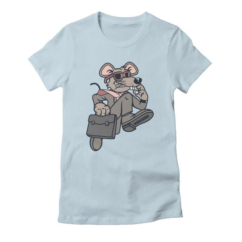 Rat Race Escape Women's T-Shirt by WackyToonz