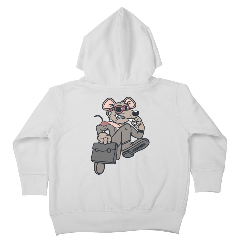 Rat Race Escape Kids Toddler Zip-Up Hoody by WackyToonz