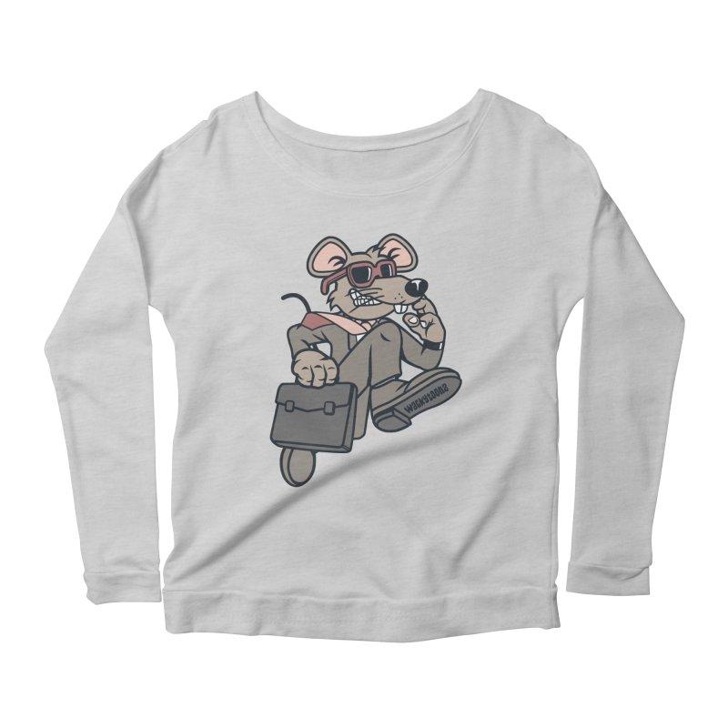 Rat Race Escape Women's Longsleeve T-Shirt by WackyToonz