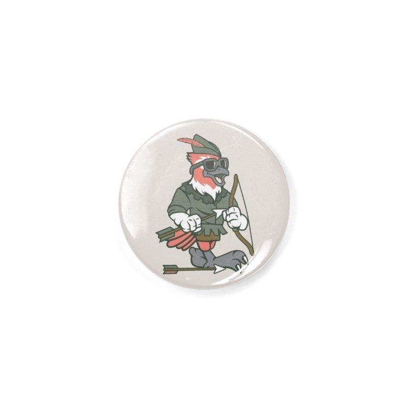 Robin Hood Accessories Button by WackyToonz