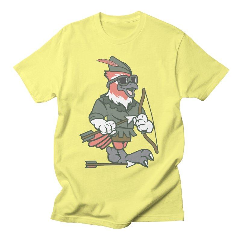 Robin Hood Men's T-Shirt by WackyToonz