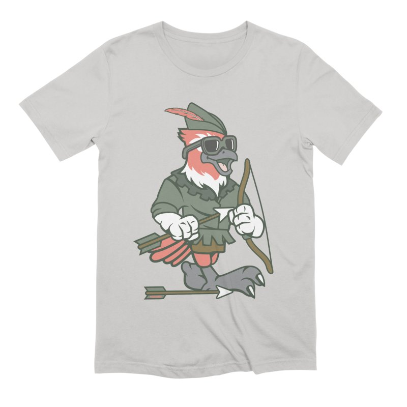 Robin Hood Men's T-Shirt by WackyToonz