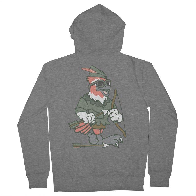 Robin Hood Men's Zip-Up Hoody by WackyToonz