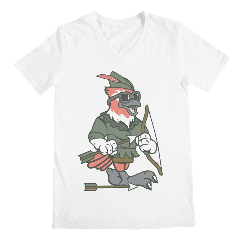 Robin Hood Men's V-Neck by WackyToonz