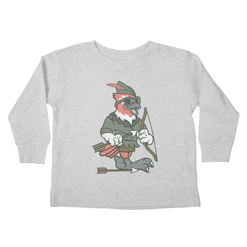 Robin Hood Kids Toddler Longsleeve T-Shirt by WackyToonz