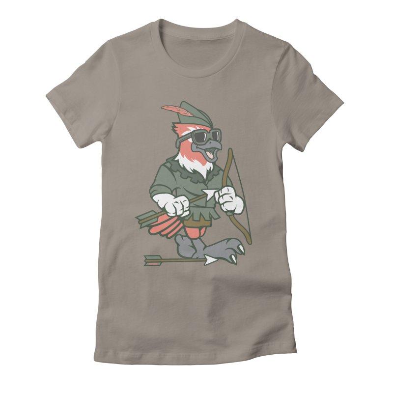 Robin Hood Women's T-Shirt by WackyToonz
