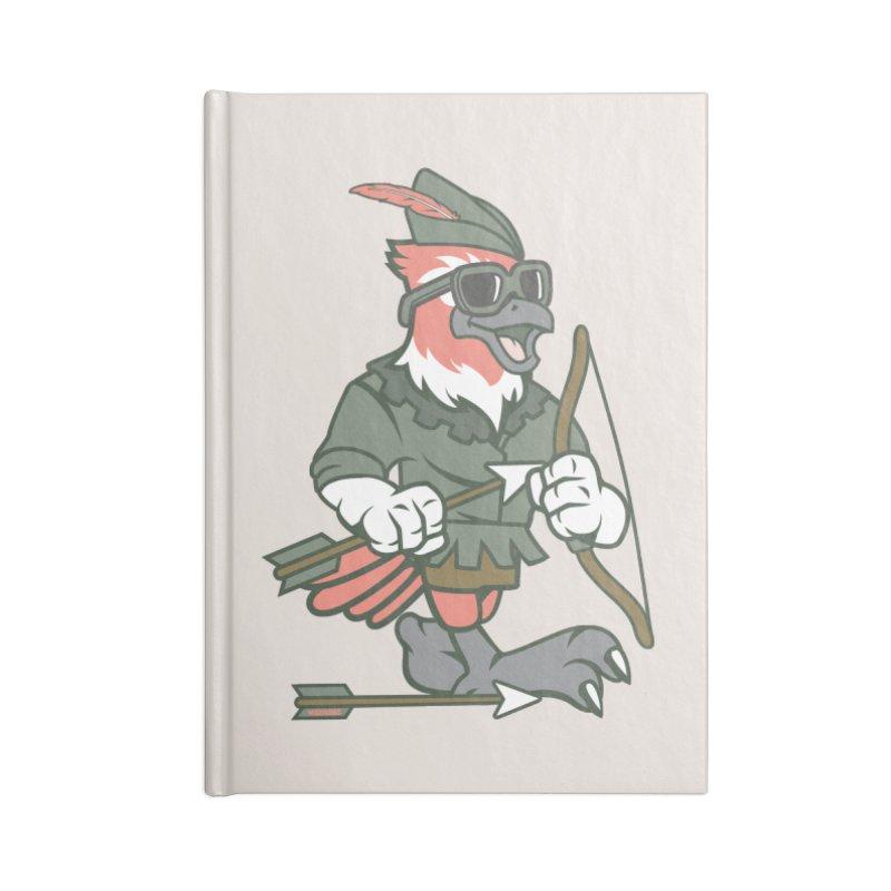 Robin Hood Accessories Notebook by WackyToonz