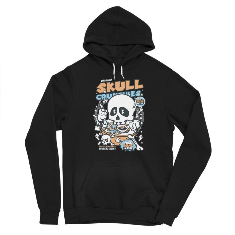Skull Crunchies Cereal Women's Pullover Hoody by WackyToonz