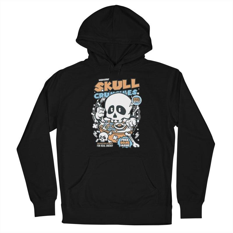Skull Crunchies Cereal Men's Pullover Hoody by WackyToonz