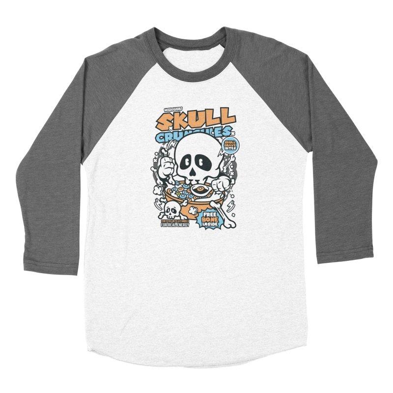 Skull Crunchies Cereal Women's Longsleeve T-Shirt by WackyToonz