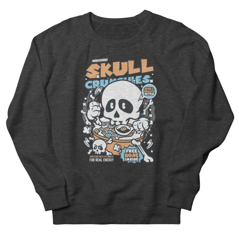 Skull Crunchies Cereal Women's Sweatshirt by WackyToonz