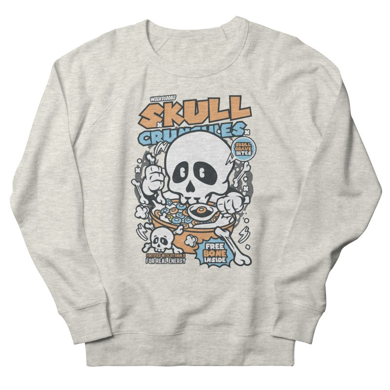 Skull Crunchies Cereal Men's Sweatshirt by WackyToonz