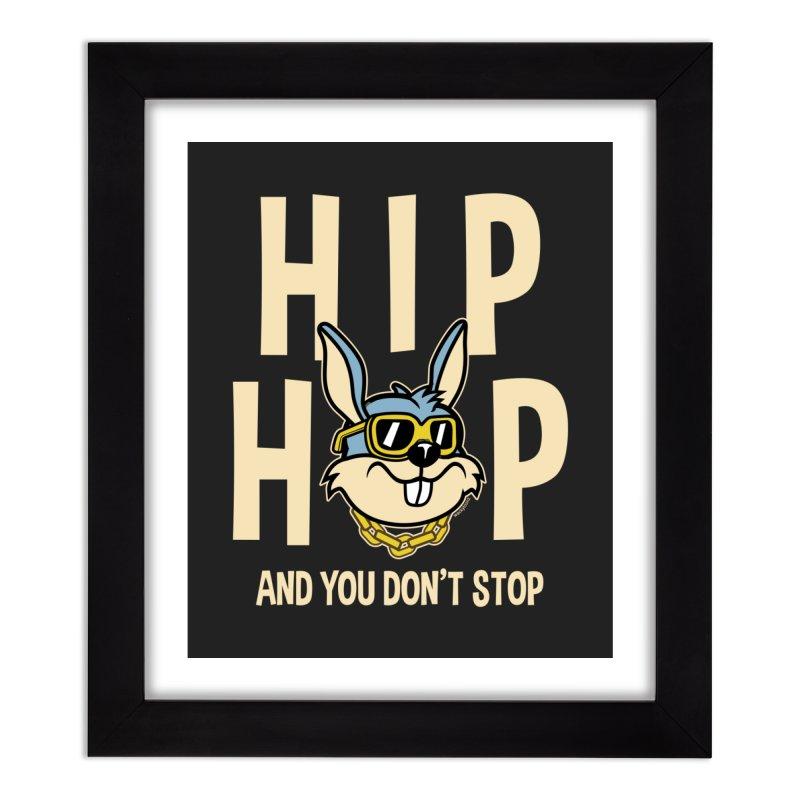 Hip Hip Home Decor Framed Fine Art Print by WackyToonz