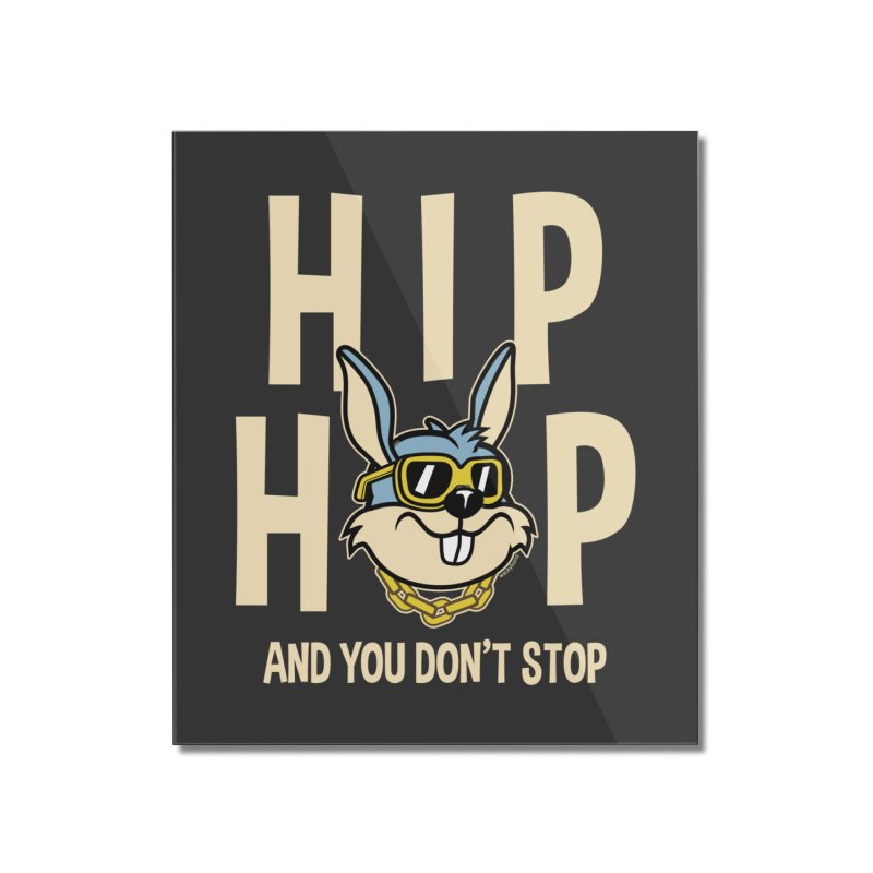 Hip Hip Home Mounted Acrylic Print by WackyToonz