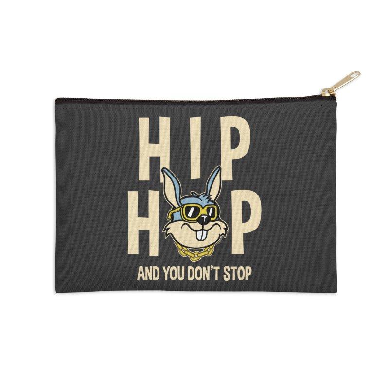 Hip Hip Accessories Zip Pouch by WackyToonz