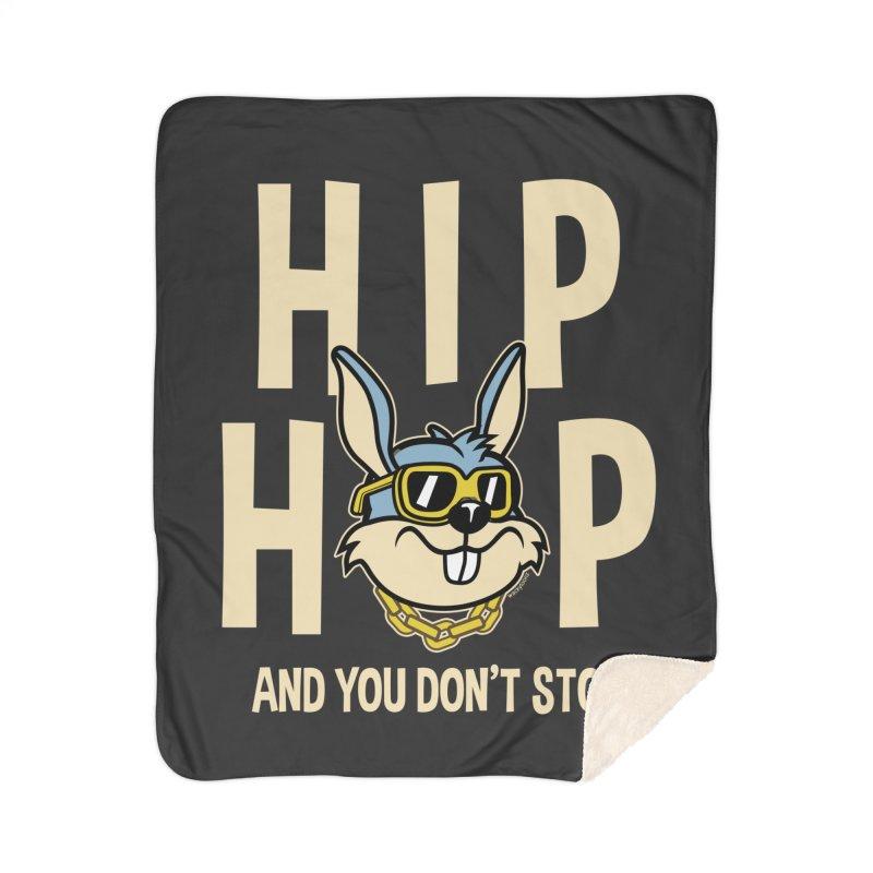Hip Hip Home Blanket by WackyToonz