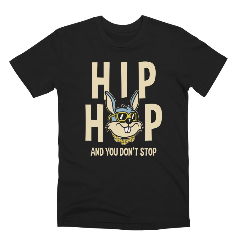 Hip Hip Men's T-Shirt by WackyToonz