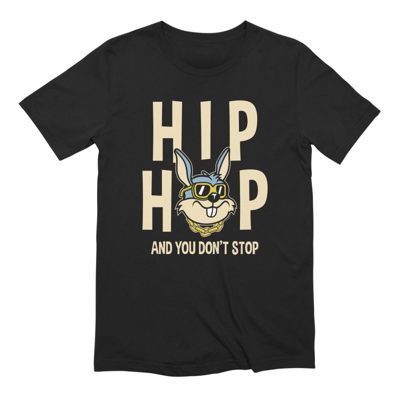 Hip Hip Men's T-Shirt by WackyToonz