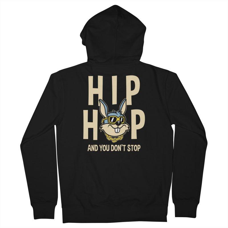 Hip Hip Men's Zip-Up Hoody by WackyToonz