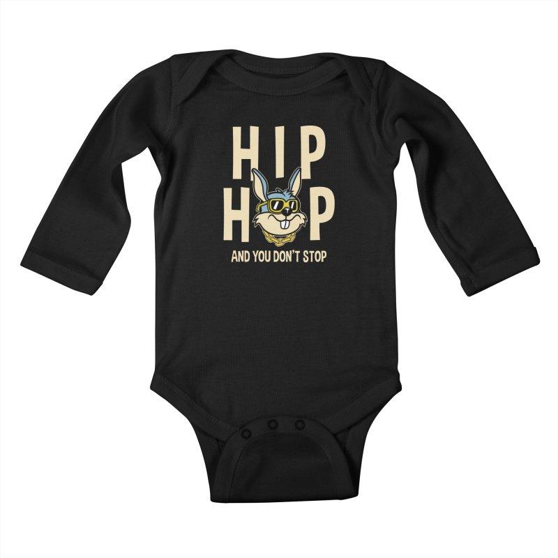 Hip Hip Kids Baby Longsleeve Bodysuit by WackyToonz