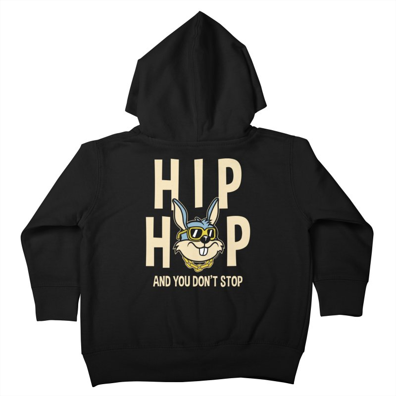 Hip Hip Kids Toddler Zip-Up Hoody by WackyToonz