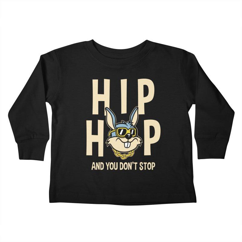 Hip Hip Kids Toddler Longsleeve T-Shirt by WackyToonz
