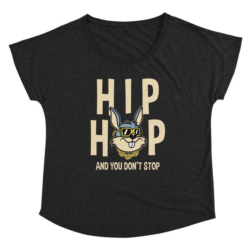 Hip Hip Women's Scoop Neck by WackyToonz