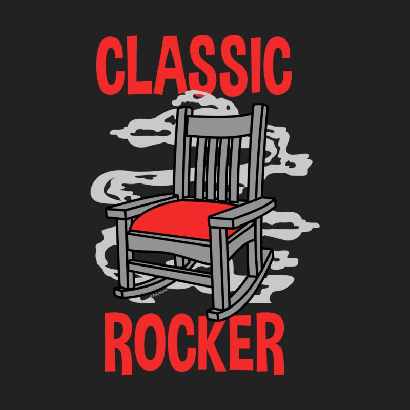 Classic Rocker Men's T-Shirt by WackyToonz