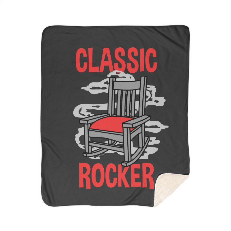 Classic Rocker Home Blanket by WackyToonz