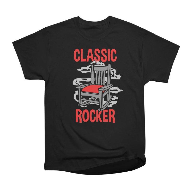 Classic Rocker Men's T-Shirt by WackyToonz