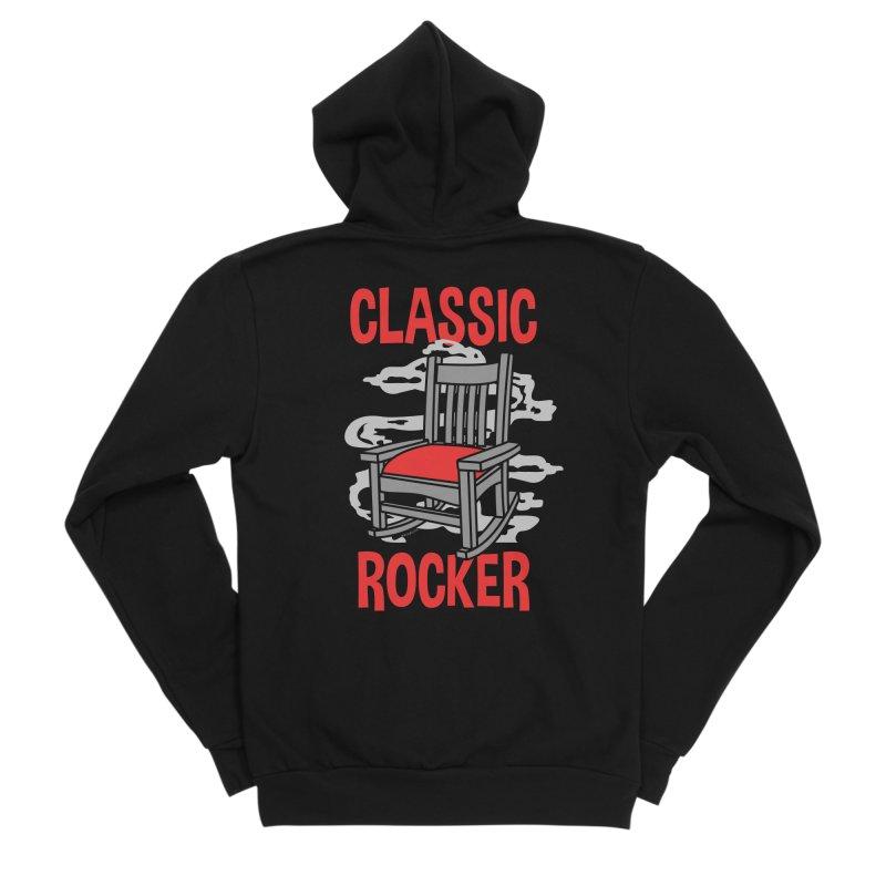 Classic Rocker Women's Zip-Up Hoody by WackyToonz