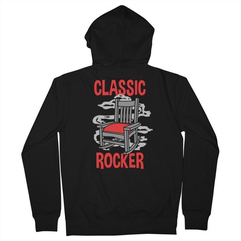 Classic Rocker Men's Zip-Up Hoody by WackyToonz