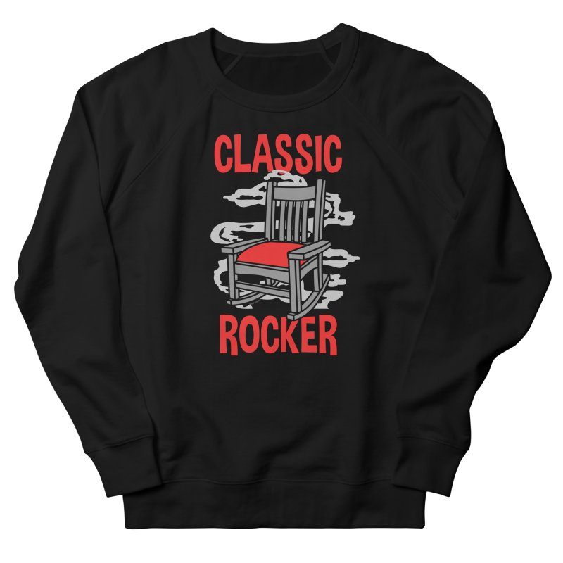 Classic Rocker Men's Sweatshirt by WackyToonz