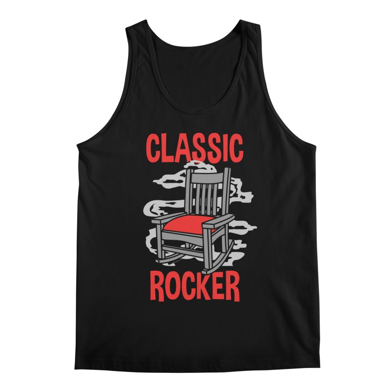 Classic Rocker Men's Tank by WackyToonz