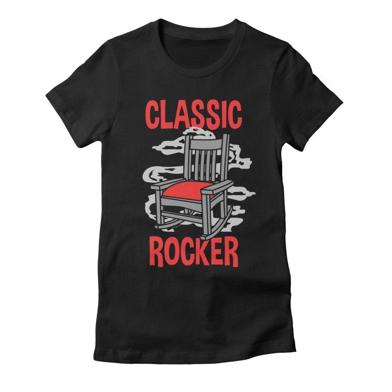 Classic Rocker Women's T-Shirt by WackyToonz