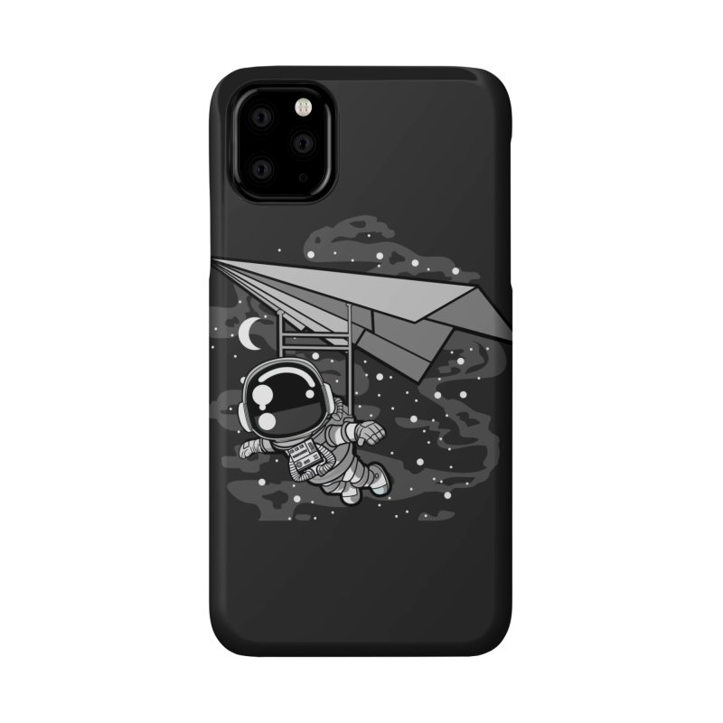 Hang Gliding Astronaut Accessories Phone Case by WackyToonz