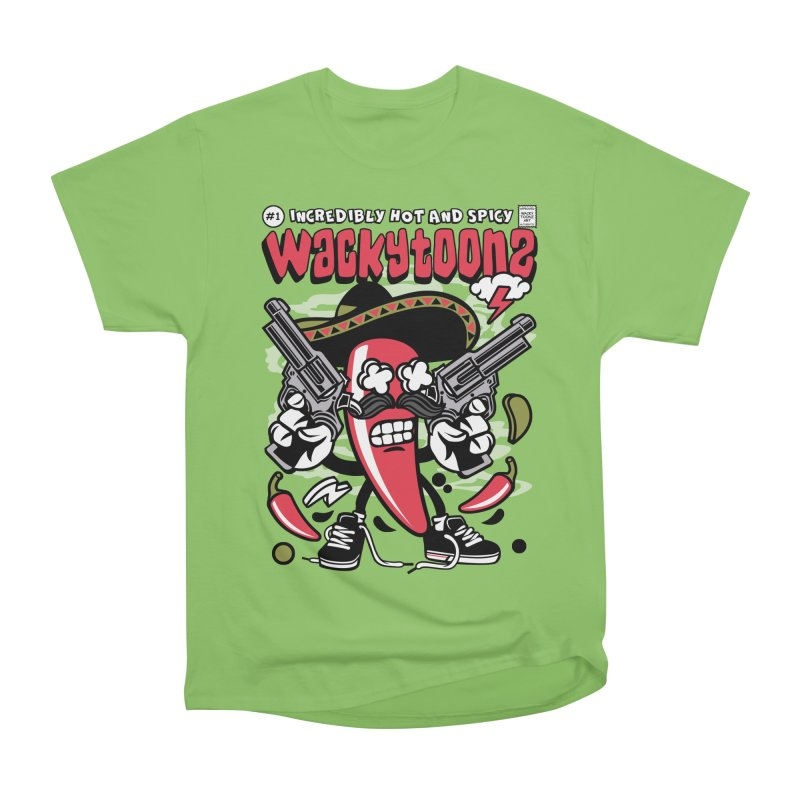 Incredibly Hot And Spicy Men's Heavyweight T-Shirt by WackyToonz