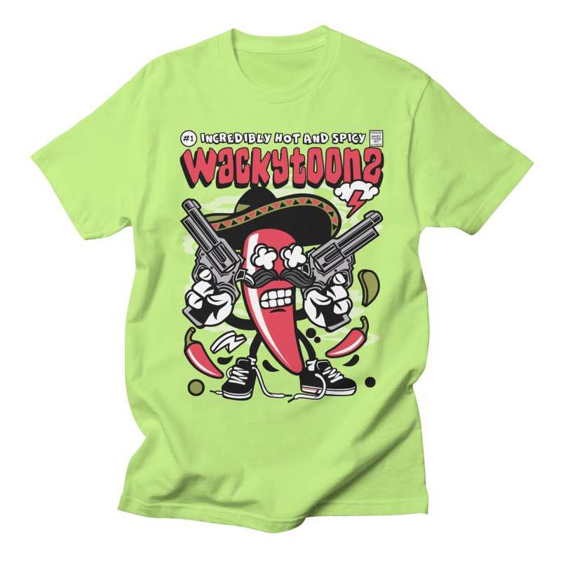 Incredibly Hot And Spicy Women's Regular Unisex T-Shirt by WackyToonz
