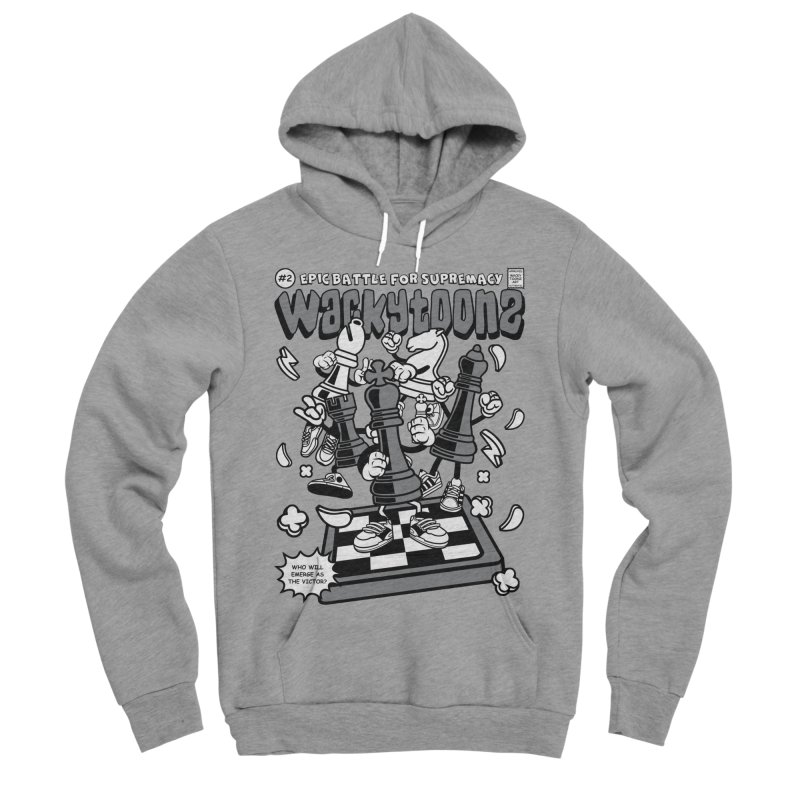 Epic Battle For Supremacy Men's Sponge Fleece Pullover Hoody by WackyToonz