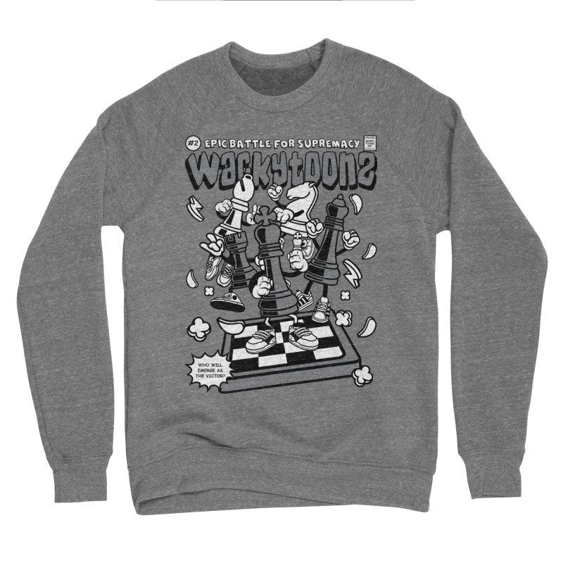 Epic Battle For Supremacy Women's Sponge Fleece Sweatshirt by WackyToonz