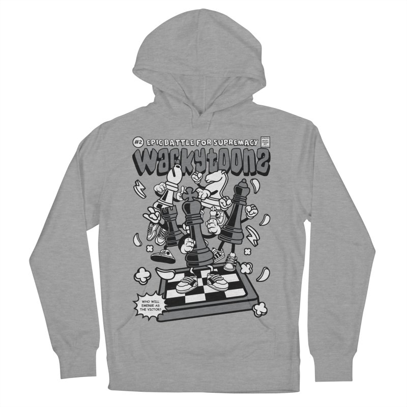 Epic Battle For Supremacy Women's French Terry Pullover Hoody by WackyToonz