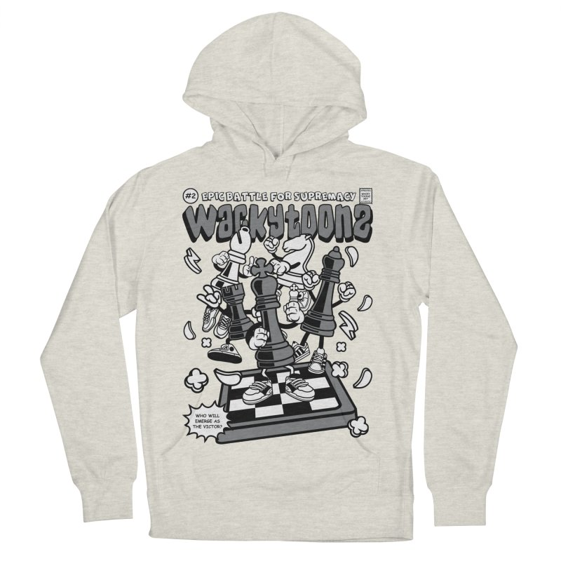 Epic Battle For Supremacy Men's French Terry Pullover Hoody by WackyToonz