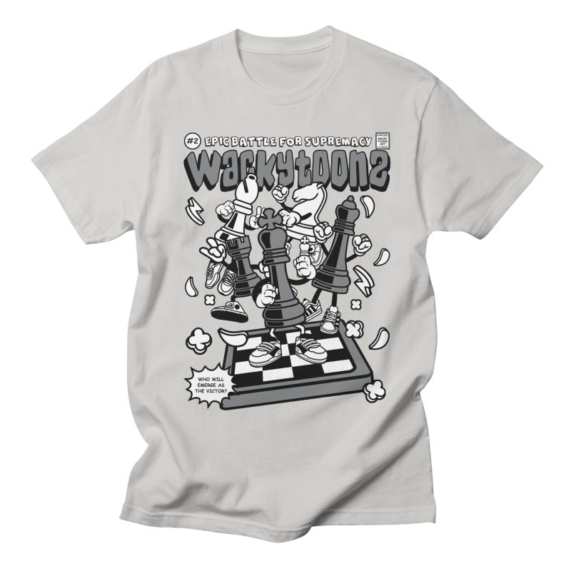 Epic Battle For Supremacy Men's Regular T-Shirt by WackyToonz