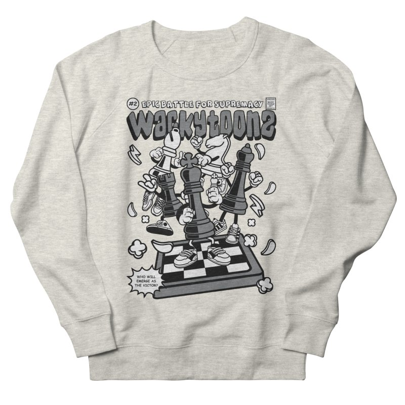 Epic Battle For Supremacy Men's French Terry Sweatshirt by WackyToonz