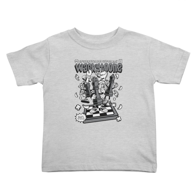 Epic Battle For Supremacy Kids Toddler T-Shirt by WackyToonz