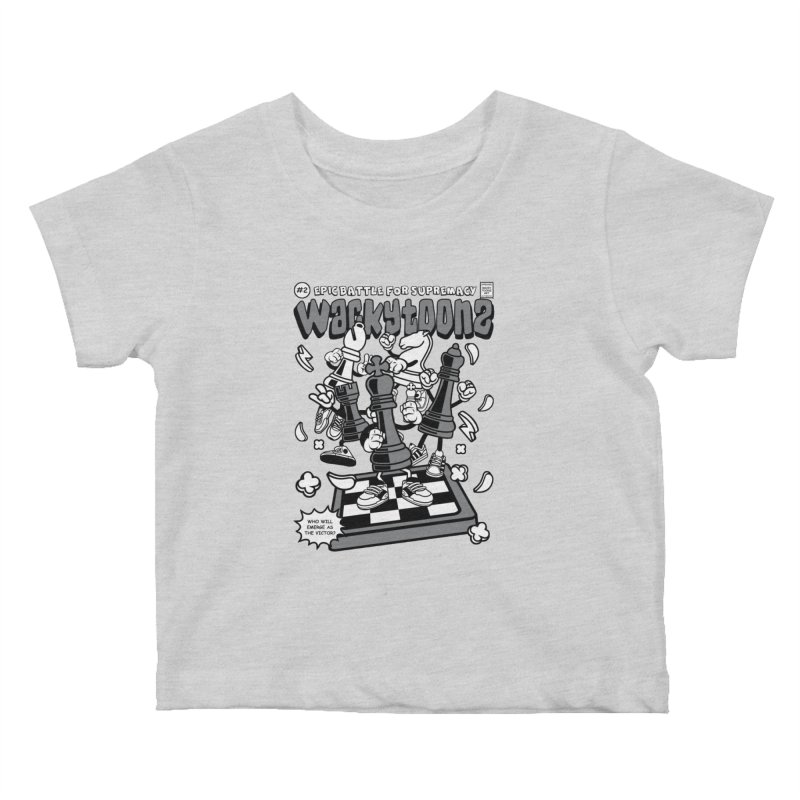 Epic Battle For Supremacy Kids Baby T-Shirt by WackyToonz