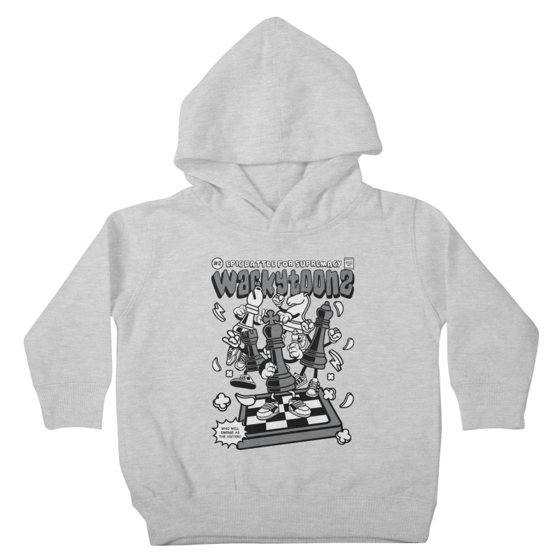 Epic Battle For Supremacy Kids Toddler Pullover Hoody by WackyToonz