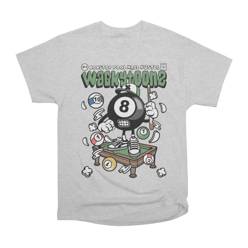 Nonstop Pool Hall Hustle Women's Heavyweight Unisex T-Shirt by WackyToonz